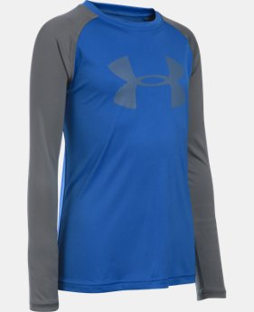 Boys' UA Sun Slasher Long Sleeve  1 Color $22.99