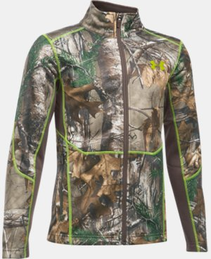 Boys' UA Scent Control Camo Jacket  1 Color $62.99