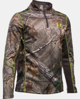 Boys' UA Armour® Fleece Scent Control 1/4 Zip   $69.99