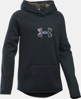 Girls' UA Storm Caliber Hoodie  2 Colors $54.99