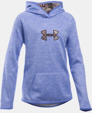 Girls' UA Storm Caliber Hoodie LIMITED TIME OFFER + FREE U.S. SHIPPING 5 Colors $41.24