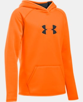 Girls' UA Icon Caliber Hoodie  1 Color $54.99