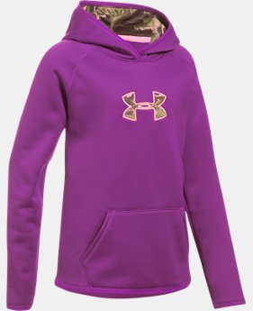 Girls' UA Storm Caliber Hoodie LIMITED TIME OFFER 4 Colors $38.99