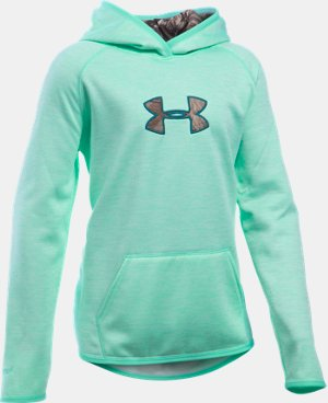 Girls' UA Storm Caliber Hoodie LIMITED TIME OFFER + FREE U.S. SHIPPING 2 Colors $41.24