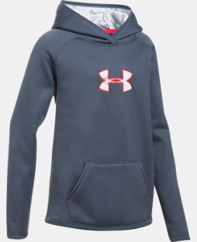 Girls' UA Storm Caliber Hoodie LIMITED TIME OFFER 2 Colors $29.99