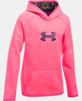 Girls' UA Storm Caliber Hoodie  4 Colors $64.99