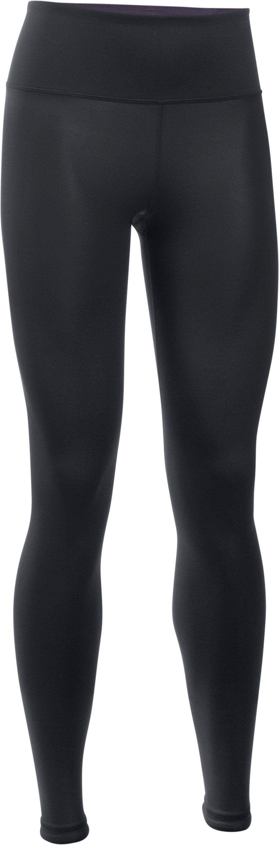 Women's UA Hi-Rise Shine Leggings, Black ,