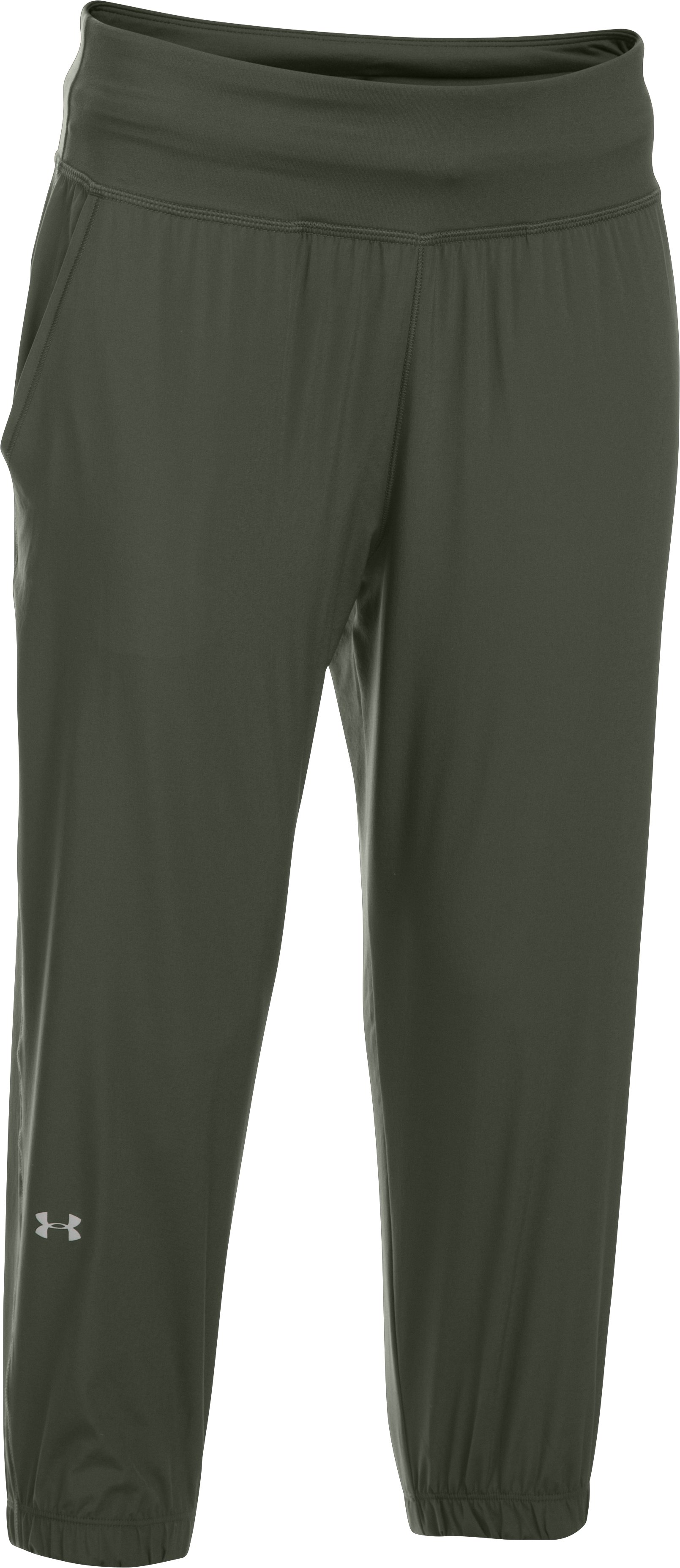 Women's Under Armour Sunblock Crop, DOWNTOWN GREEN, undefined