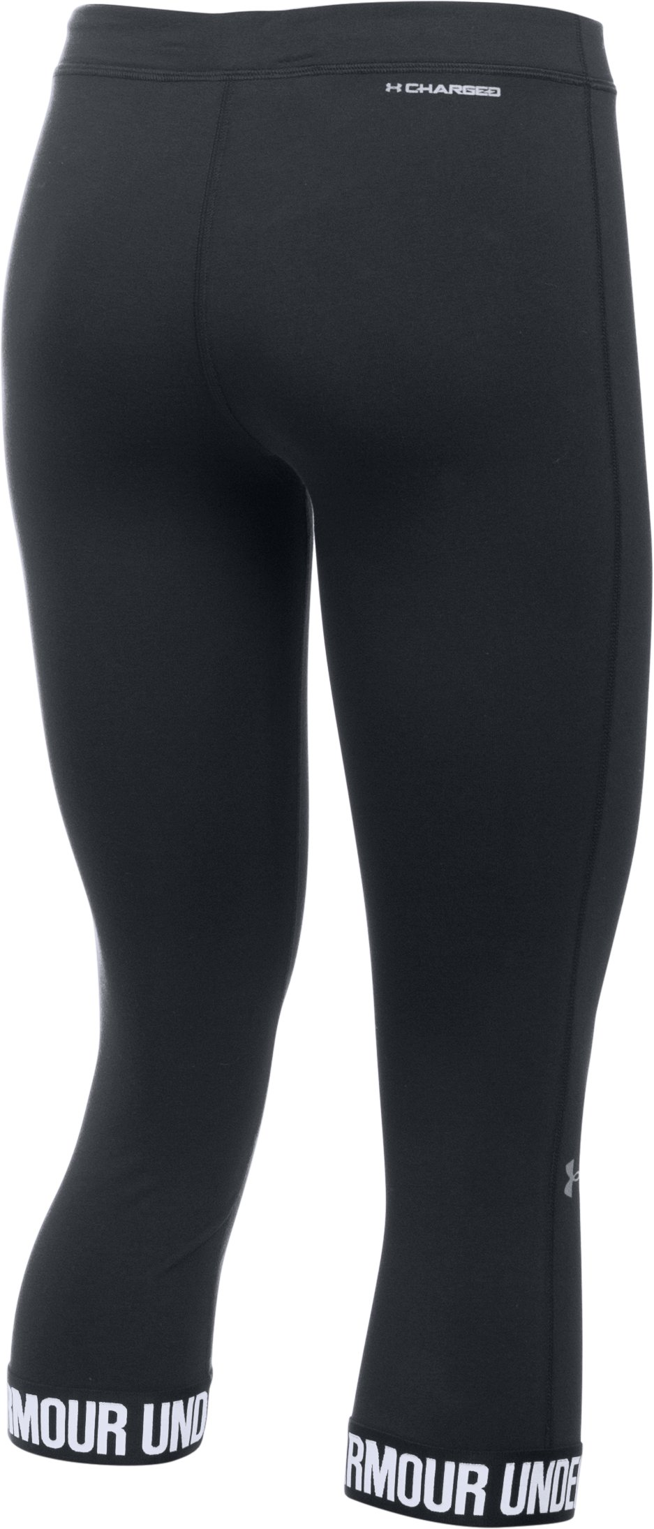 Women's UA Favorite Word Mark Capri , Black