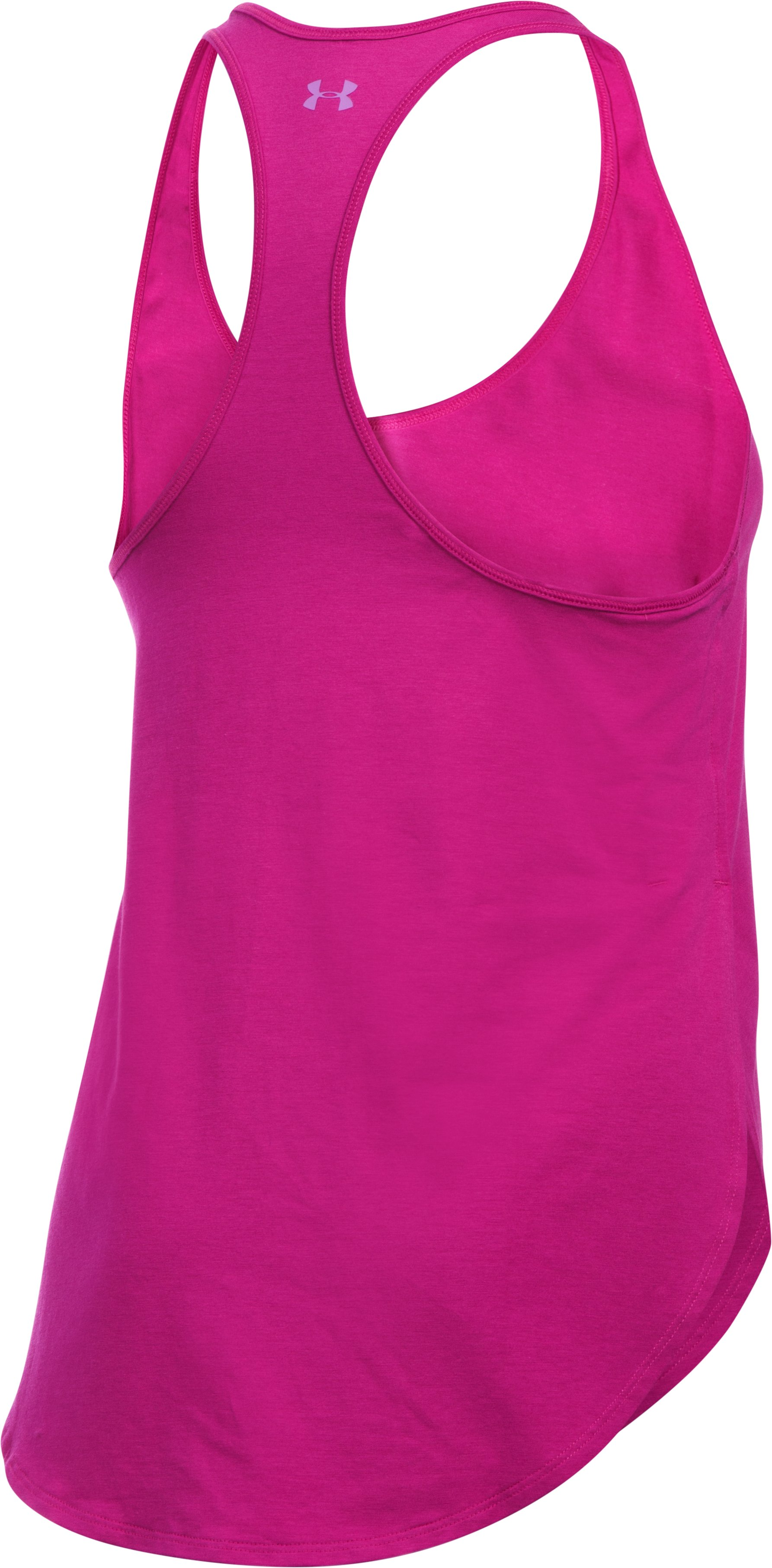 Women's UA Essential Every Day Matters Tank, MAGENTA SHOCK, undefined