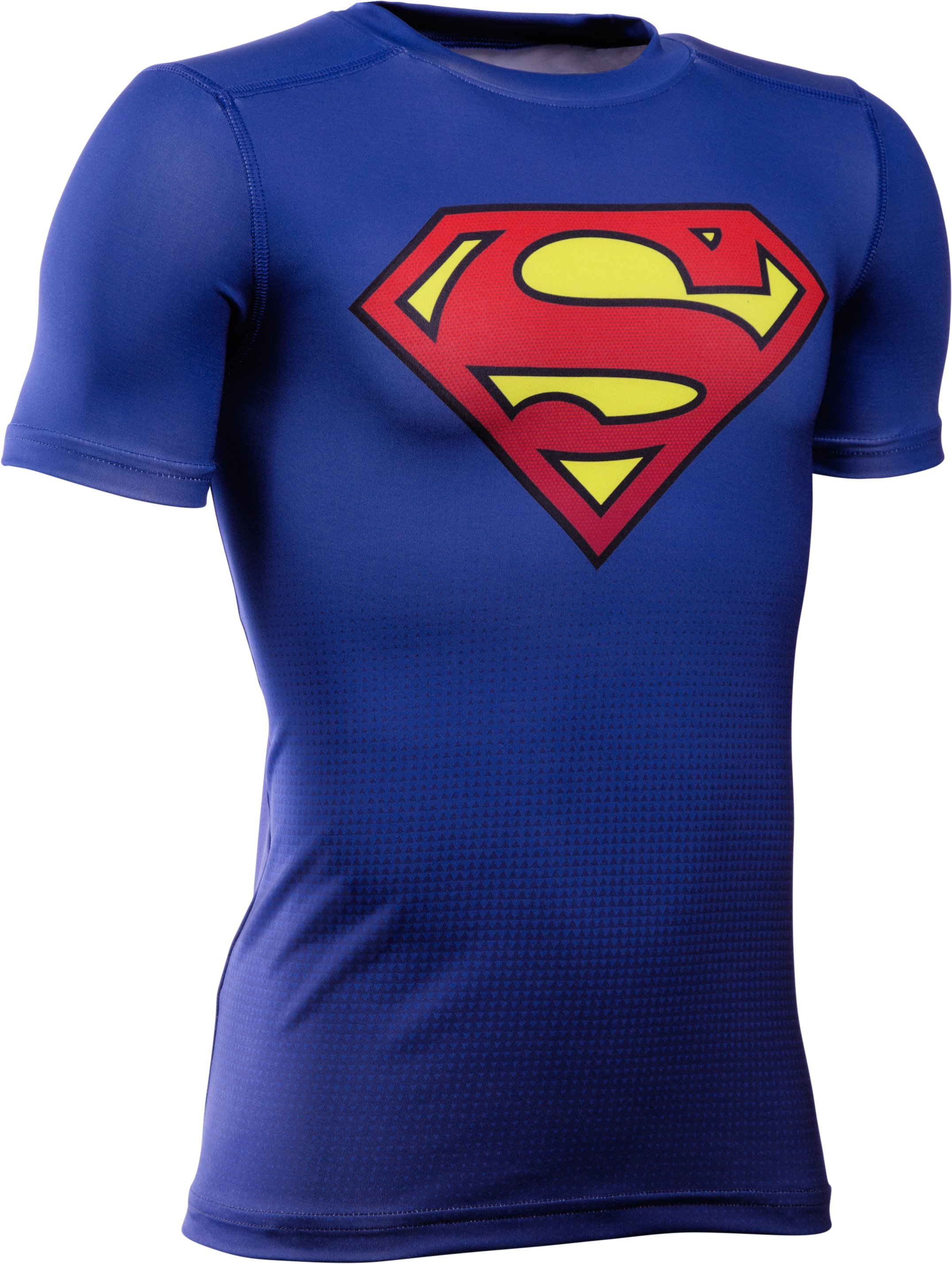 Boys' Under Armour® Alter Ego DC Comics Fitted Baselayer, Royal,