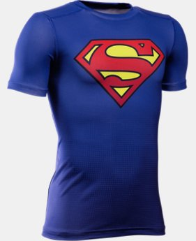 Boys' Under Armour® Alter Ego DC Superhero Fitted Shirt LIMITED TIME: FREE SHIPPING  $34.99