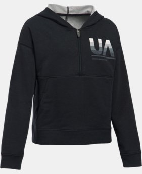 Girls' UA French Terry Hoodie  2 Colors $28.99 to $30.99