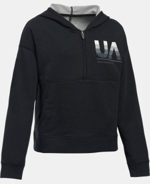 Girls' UA French Terry Hoodie LIMITED TIME: FREE U.S. SHIPPING 1 Color $49.99