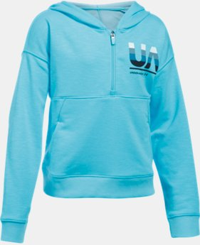 New Arrival Girls' UA French Terry Hoodie  1 Color $49.99