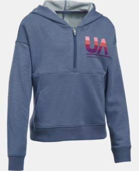 Girls' UA French Terry Hoodie  1 Color $28.99 to $30.99
