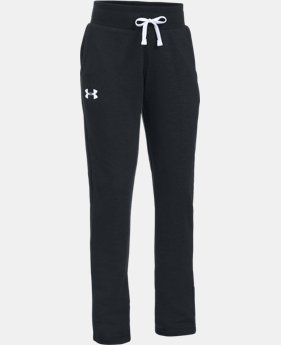 New Arrival Girls' UA French Terry Pants  1 Color $44.99