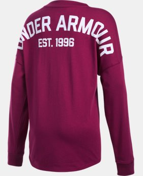 Girls' UA Long Sleeve Tunic LIMITED TIME: FREE U.S. SHIPPING 2 Colors $34.99