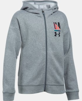 Best Seller Girls' UA Favorite Full Zip Hoodie  1 Color $49.99