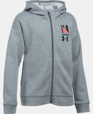 Girls' UA Favorite Full Zip Hoodie LIMITED TIME: FREE SHIPPING  $44.99