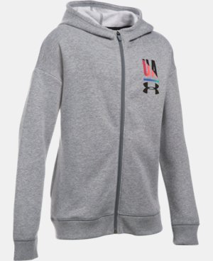 Girls' UA Favorite Full Zip Hoodie   $49.99