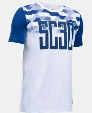 Boys' SC30 Strike T-Shirt LIMITED TIME: FREE U.S. SHIPPING  $24.99