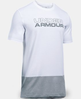 Men's UA Pursuit Blocked T-Shirt  1 Color $39.99