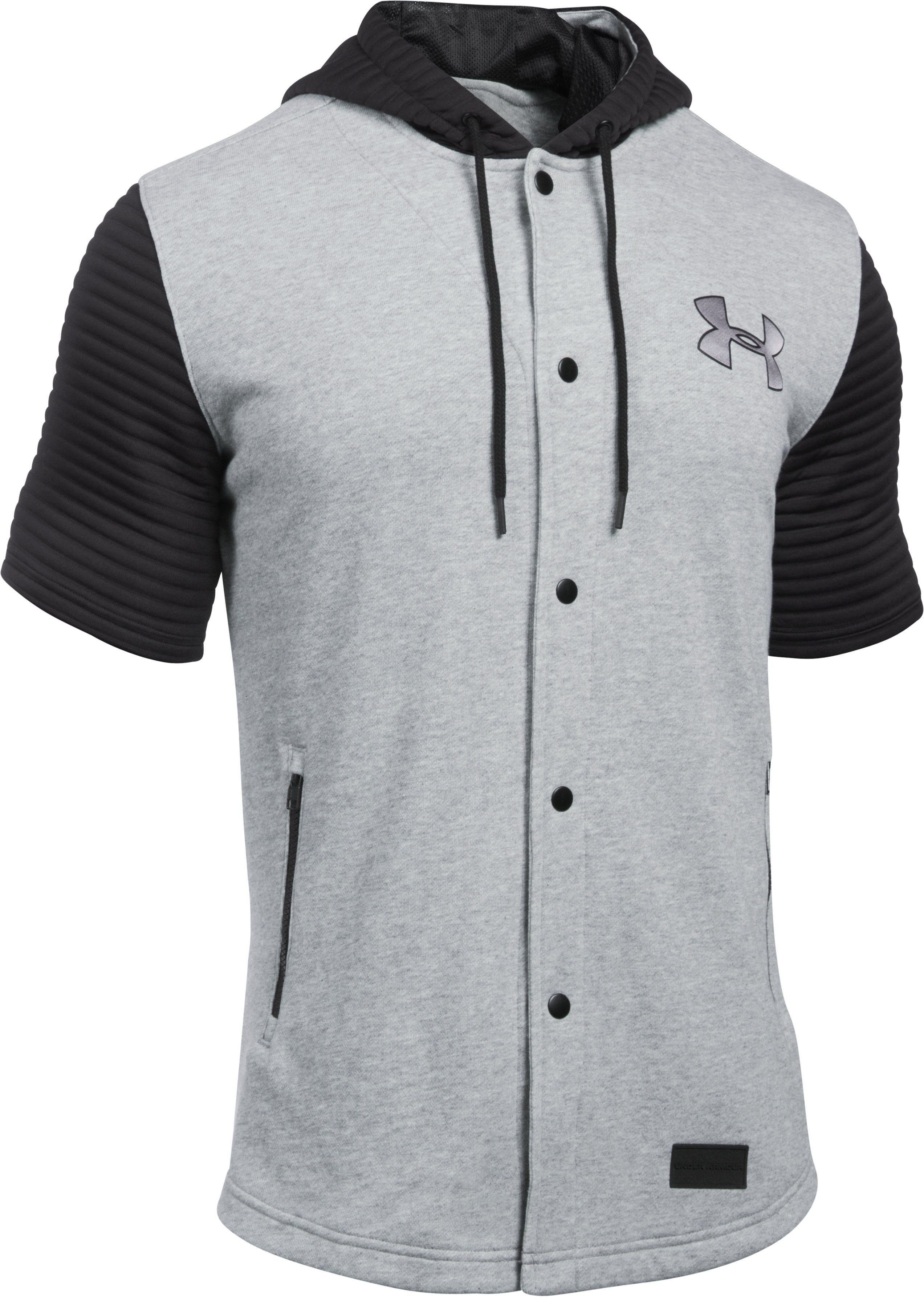 Men's UA Pursuit Jersey, True Gray Heather, undefined