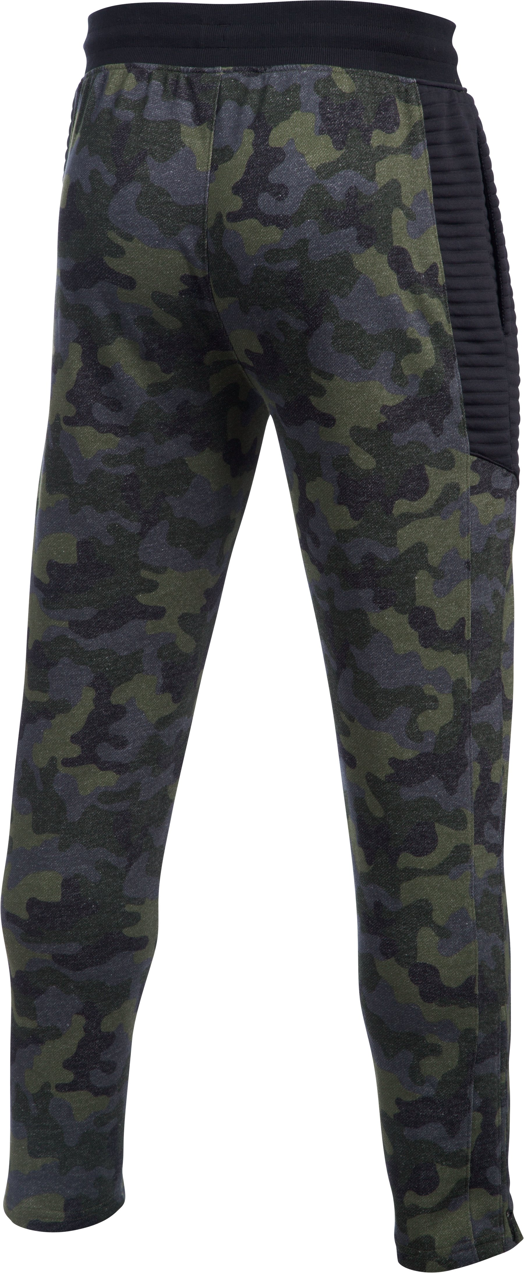 Men's UA Pursuit Tapered Pants, Marine OD Green, undefined
