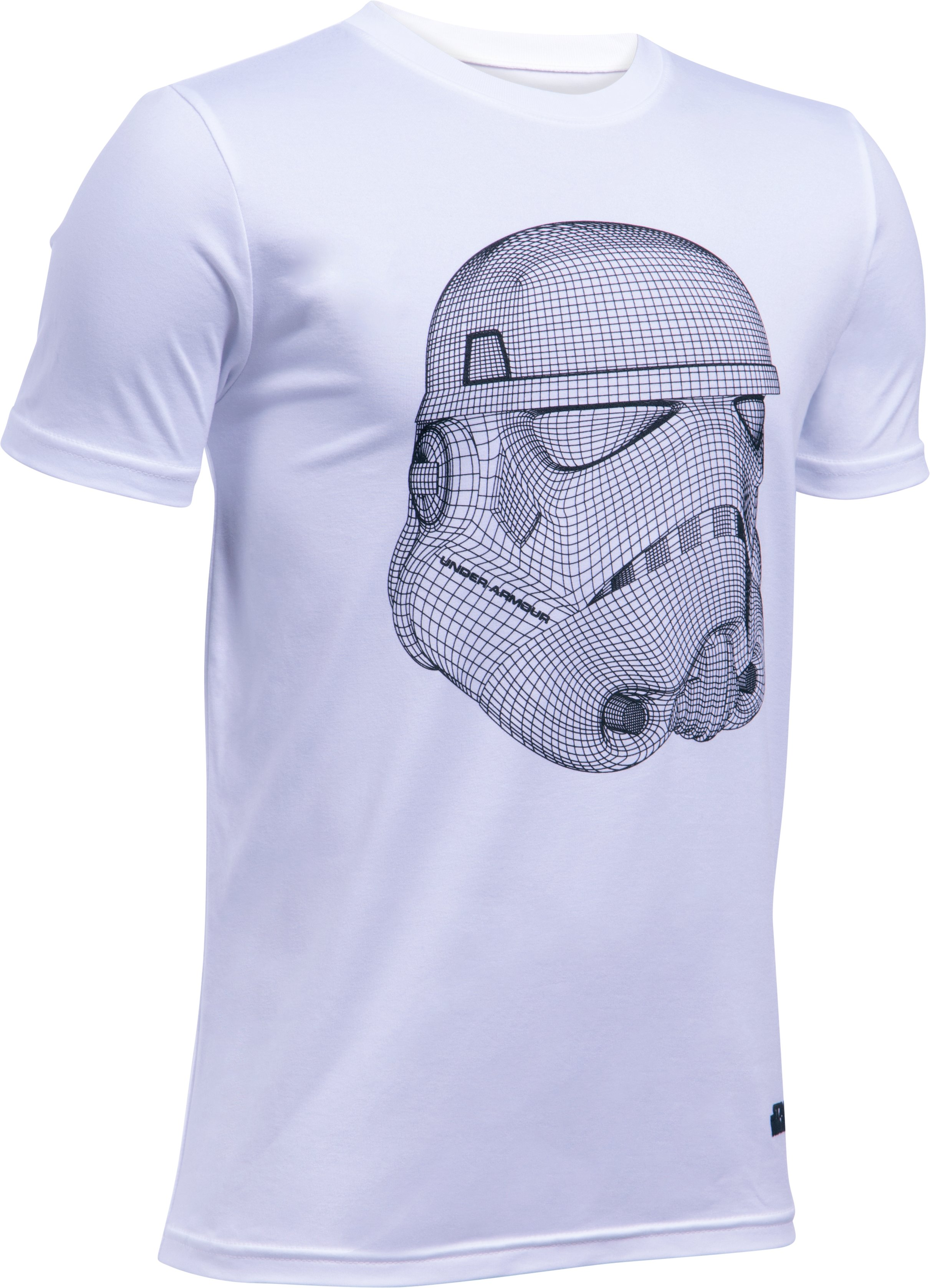Boys' UA Star Wars Trooper T-Shirt, White, undefined