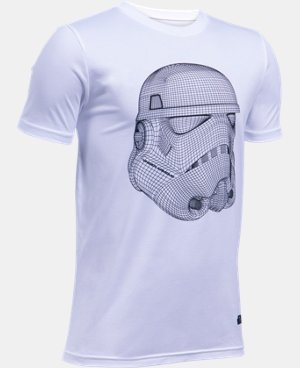 New Arrival Boys' UA Star Wars Trooper T-Shirt   $29.99