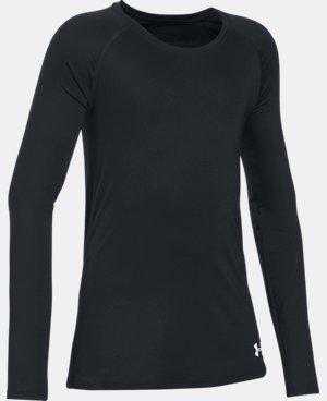 Girls' HeatGear® Armour Long Sleeve LIMITED TIME: FREE U.S. SHIPPING 1 Color $17.24