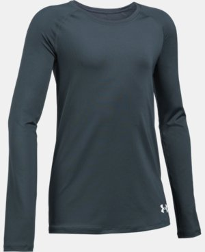 Girls' HeatGear® Armour Long Sleeve LIMITED TIME: FREE U.S. SHIPPING 1 Color $22.99