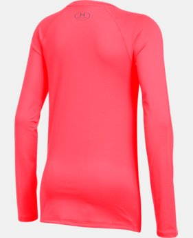 New Arrival  Girls' HeatGear® Armour Long Sleeve  4 Colors $34.99