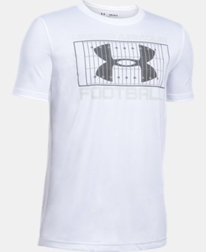 Boys' UA Football Holiday T-Shirt LIMITED TIME: FREE SHIPPING  $17.99