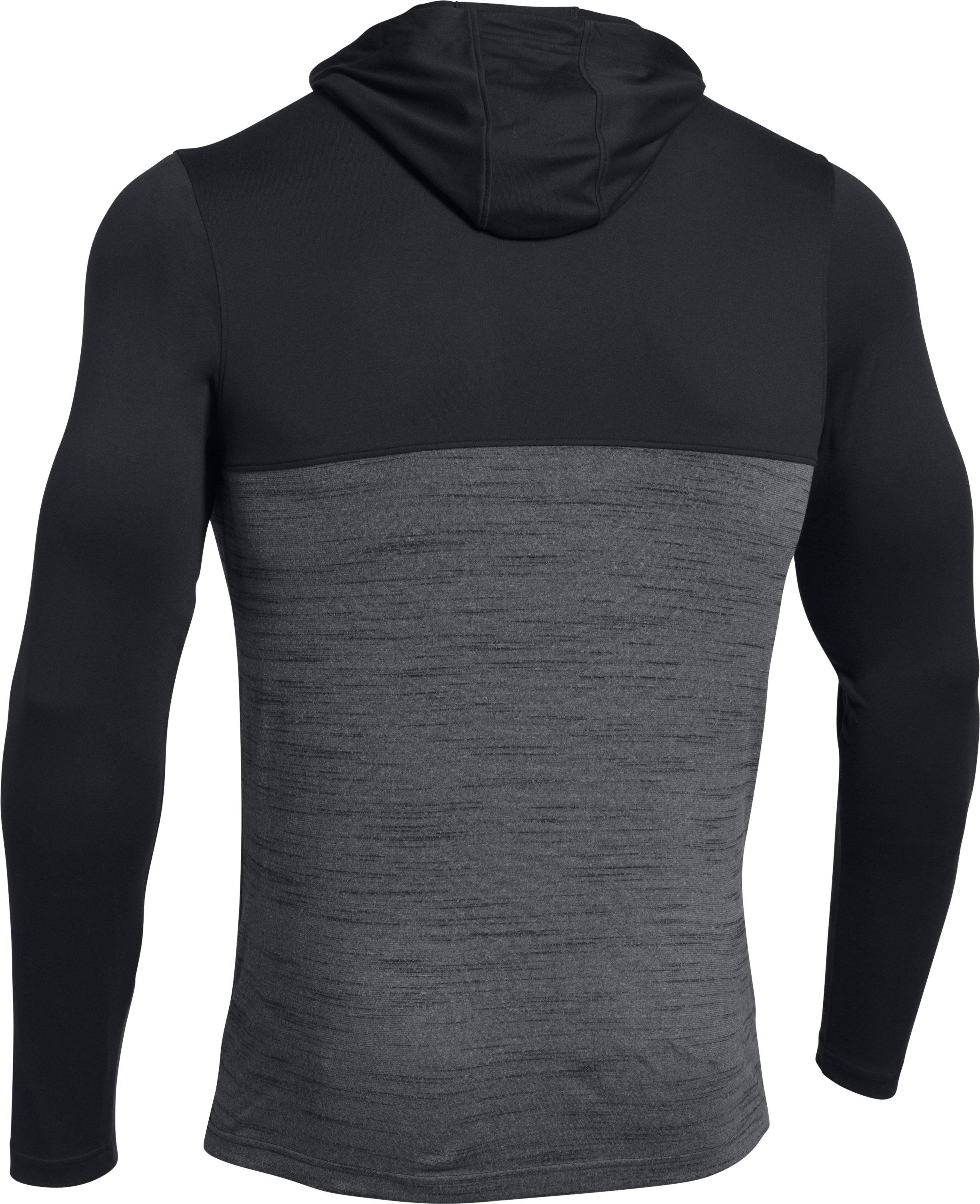 Men's UA Tech™ ¼ Zip Hoodie, Black ,