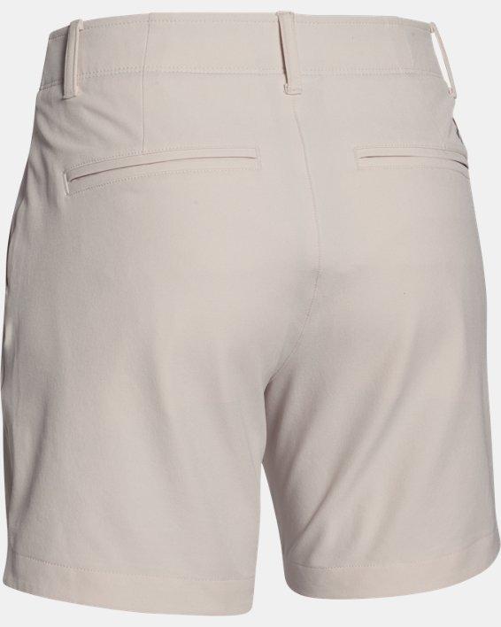 Women's UA Chino Shorts, White, pdpMainDesktop image number 4