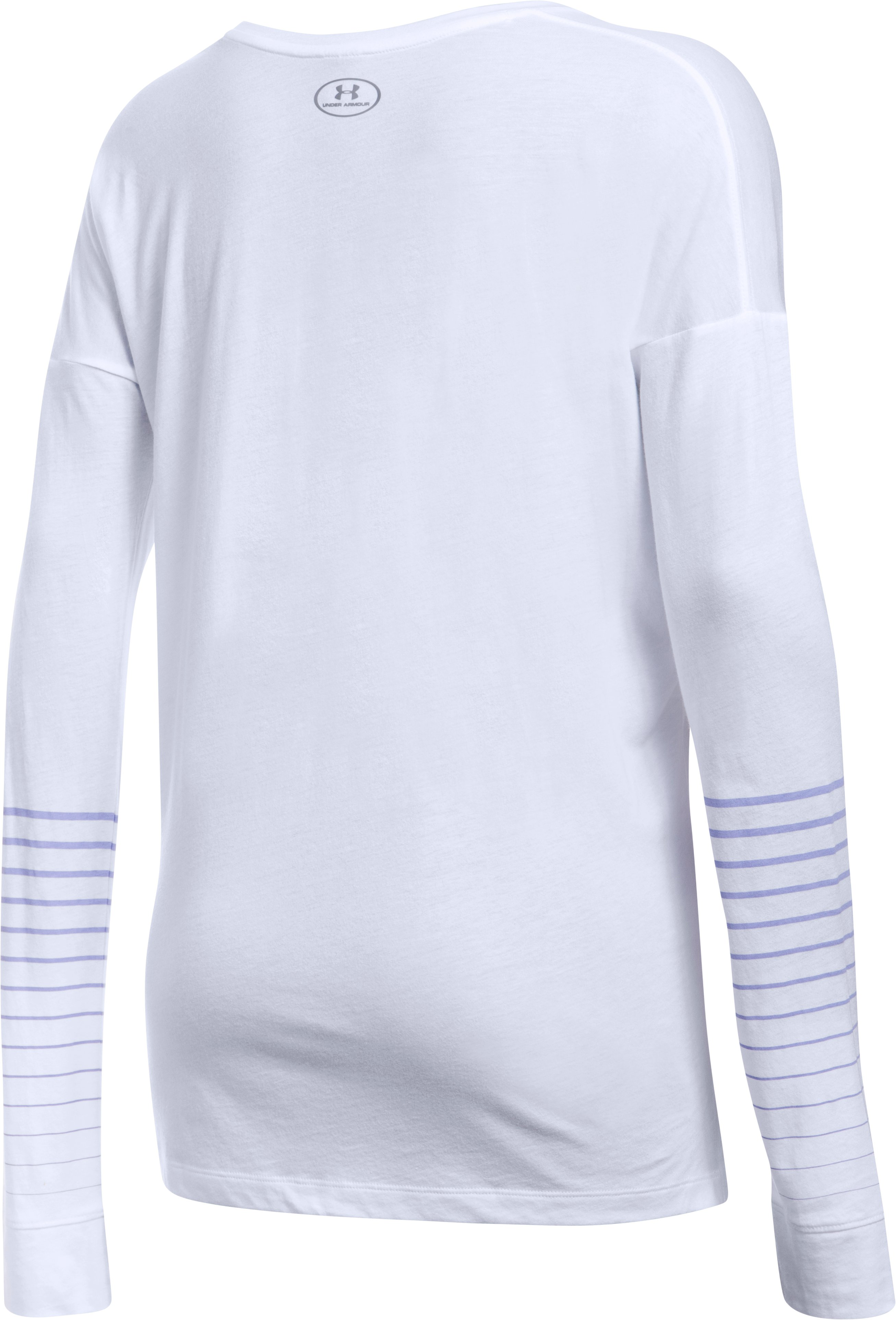 Women's UA Unapologetic Long Sleeve, White