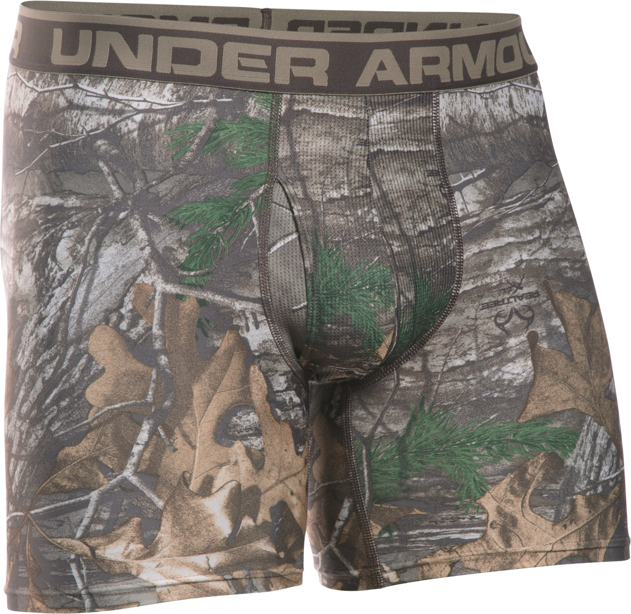 "Men's UA Original Series Camo 6"" Boxerjock®, REALTREE AP-XTRA"