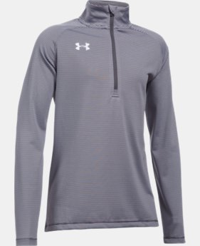 Girls' UA Tech™ Stripe ¼ Zip  1 Color $39.99