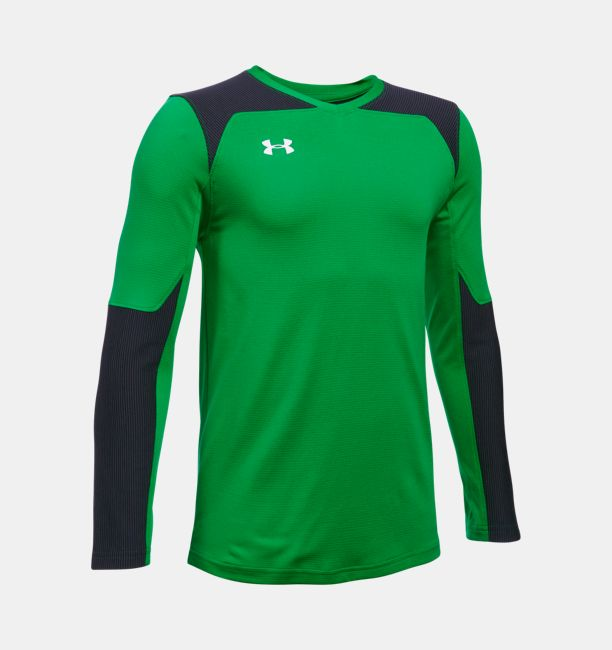 35ae85157 Kids  UA Threadborne Wall Goalkeeper Jersey