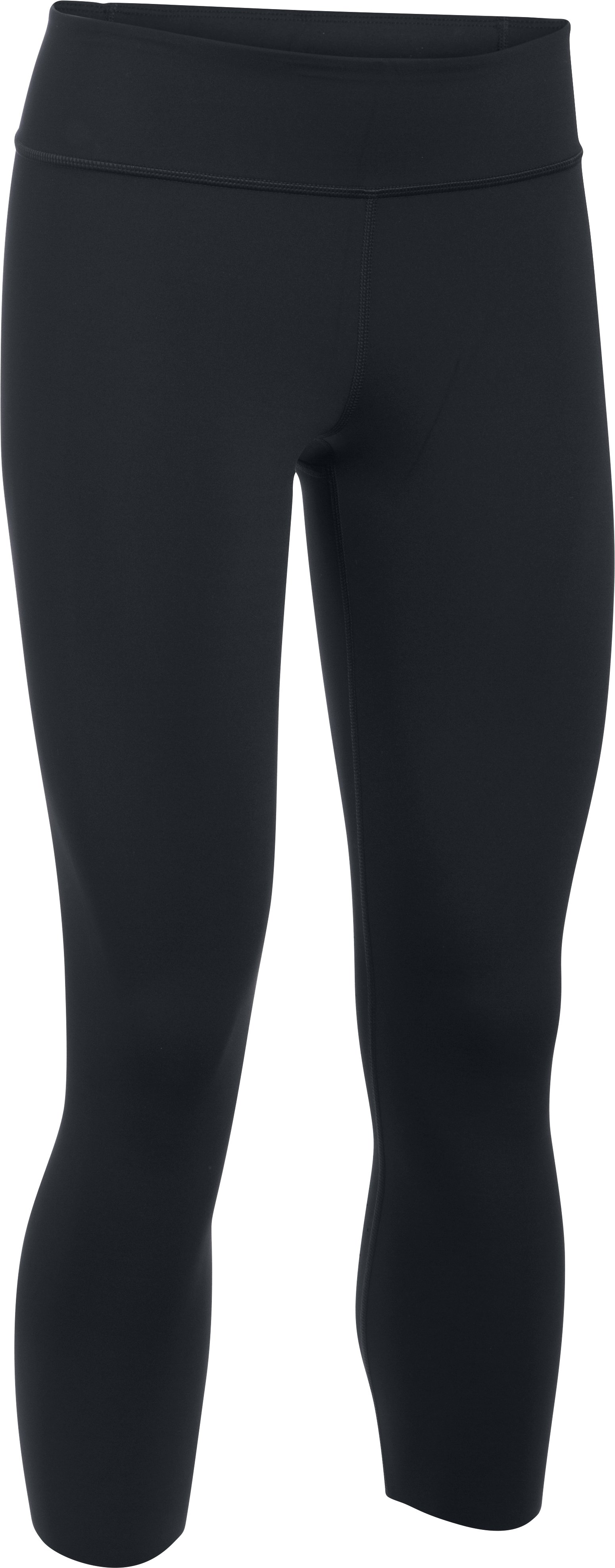 Women's UA Mirror BreatheLux Crop, Black