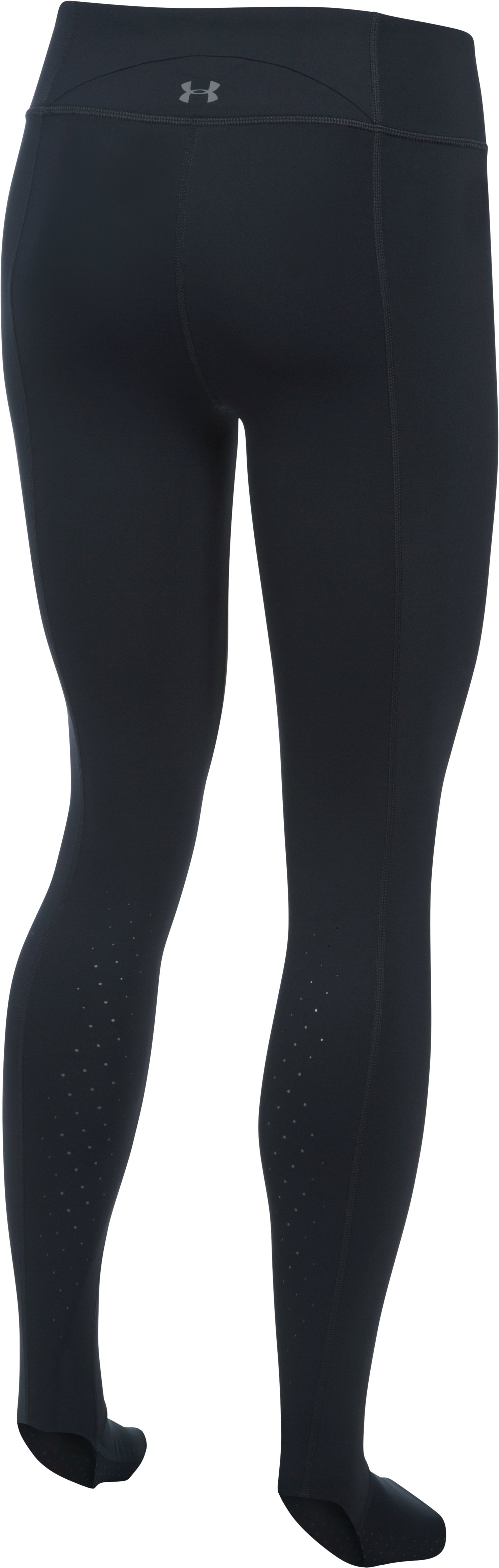 Women's UA Mirror BreatheLux Stirrup Leg, Black ,