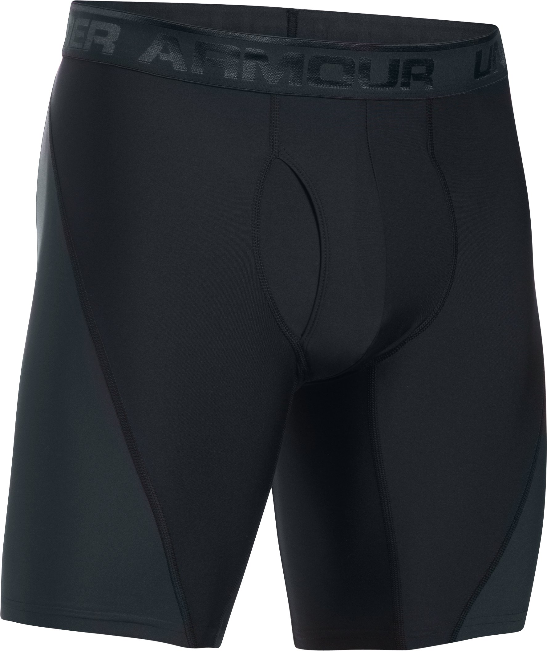 "Men's UA Original Series 9"" Cupron® Boxerjock®, Black ,"