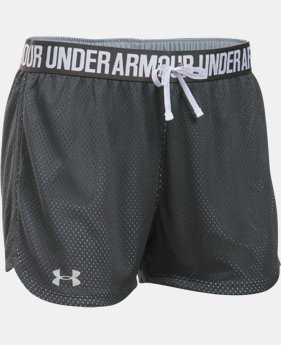 New Arrival  Women's UA Play Up Mesh Short LIMITED TIME: FREE SHIPPING 1 Color $26.99