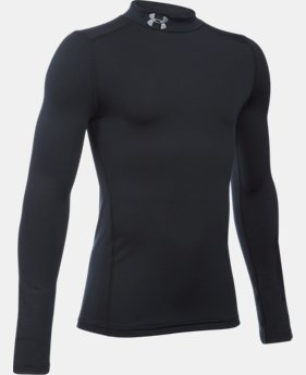 Boys' ColdGear® Armour Mock  1  Color Available $44.99