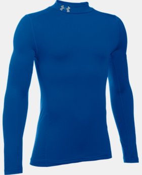 Boys' UA ColdGear® Armour Mock  1 Color $39.99