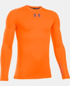 Boys' UA ColdGear® Armour Crew  LIMITED TIME OFFER + FREE U.S. SHIPPING  $29.99