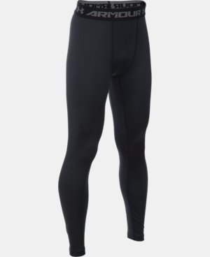 Boys' UA ColdGear® Armour Leggings  2 Colors $33.74