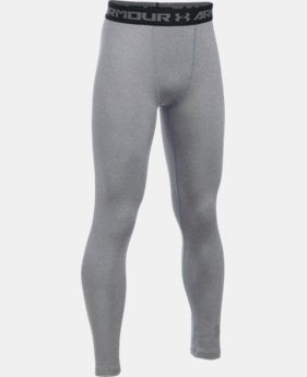 Boys' ColdGear® Armour Leggings LIMITED TIME OFFER 1 Color $27.99